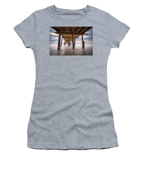 Outer Banks Nc Seascape Nags Head North Carolina Women's T-Shirt (Athletic Fit)