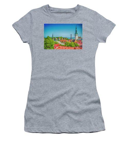 Overlooking Tallinn Women's T-Shirt