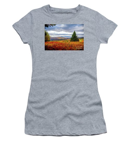 Overlooking The Foothills Women's T-Shirt (Athletic Fit)