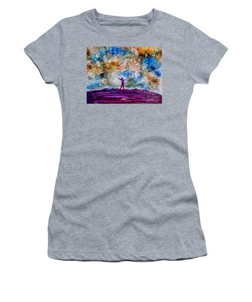 Overwhelmed Women's T-Shirt
