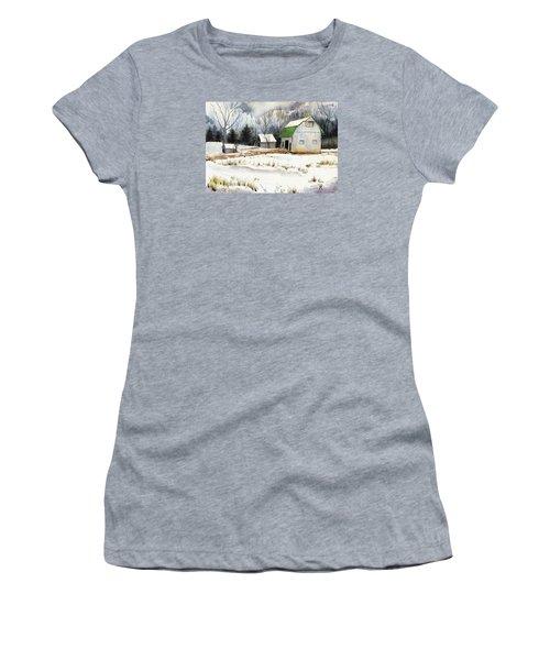 Owen County Winter Women's T-Shirt (Athletic Fit)