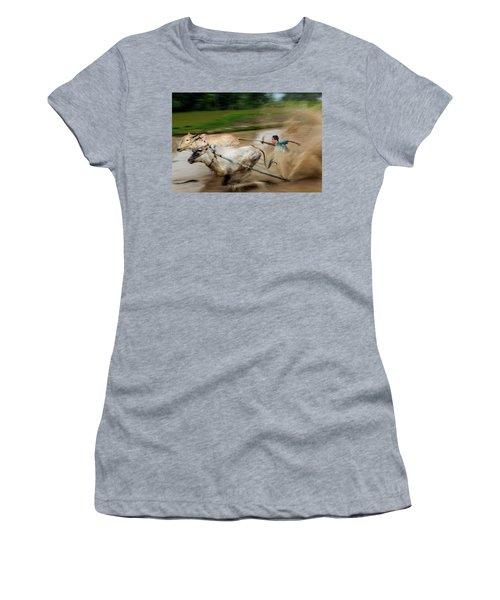 Pacu Jawi Bull Race Festival Women's T-Shirt