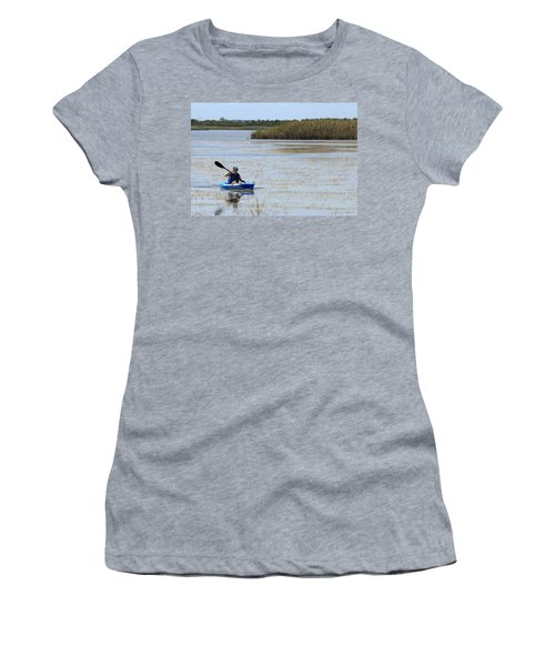 Paddle Away Women's T-Shirt (Athletic Fit)