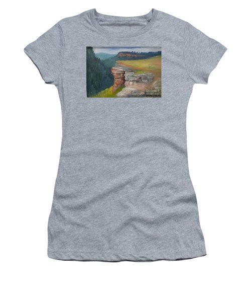 Pagosa Springs View Women's T-Shirt (Athletic Fit)