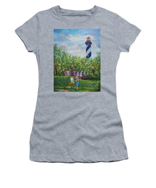Painting The Light Women's T-Shirt