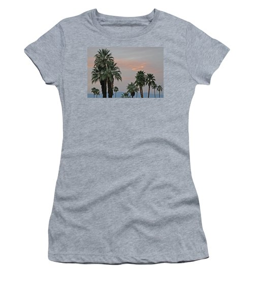 Palm Desert Sunset  Women's T-Shirt (Athletic Fit)