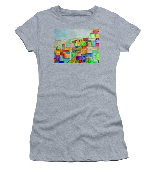 Palmyra Women's T-Shirt (Junior Cut) by Kim Nelson