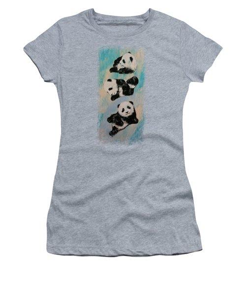 Panda Karate Women's T-Shirt