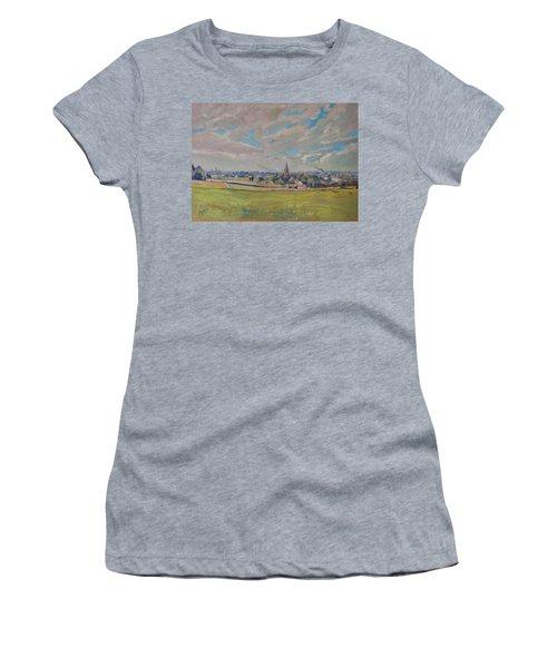 Panorama Maastricht Women's T-Shirt (Junior Cut) by Nop Briex