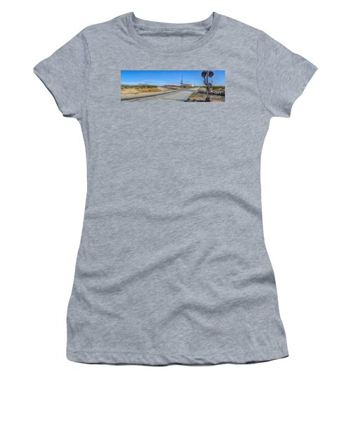 Panoramic Railway Signal Women's T-Shirt