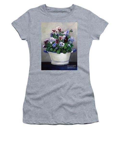 Pansies Women's T-Shirt