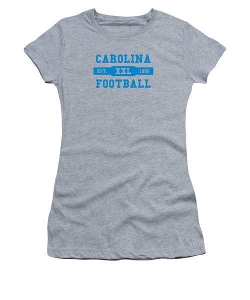 Panthers Retro Shirt Women's T-Shirt (Junior Cut) by Joe Hamilton