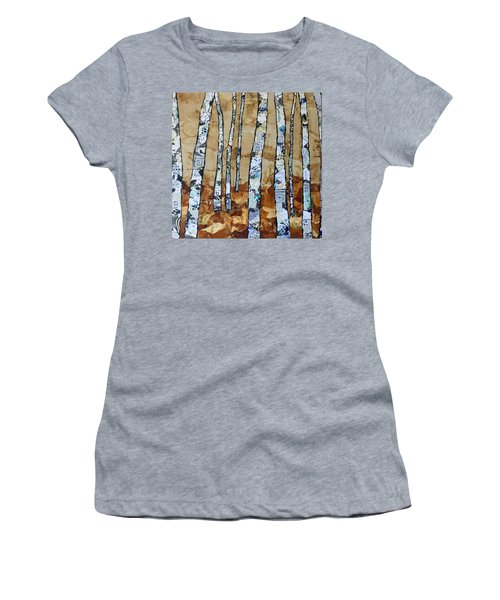 Paper Birch 3 Women's T-Shirt (Athletic Fit)