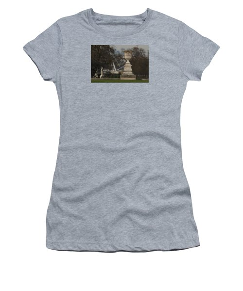Women's T-Shirt (Junior Cut) featuring the photograph Paris Park by Katie Wing Vigil