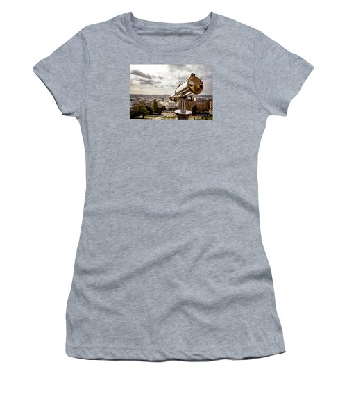 Parisian View Women's T-Shirt (Athletic Fit)