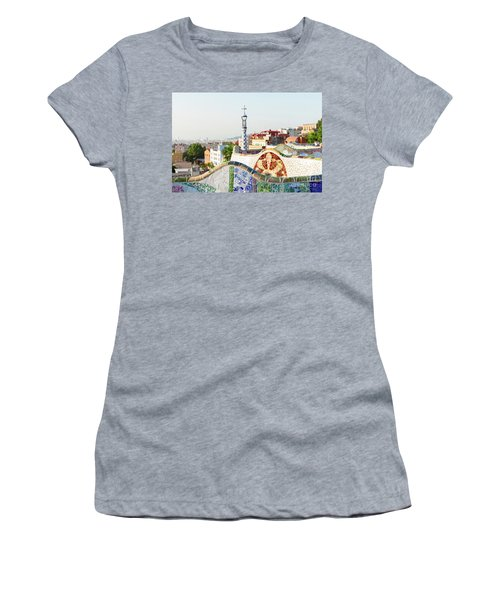 Park Guell In Barcelona Women's T-Shirt