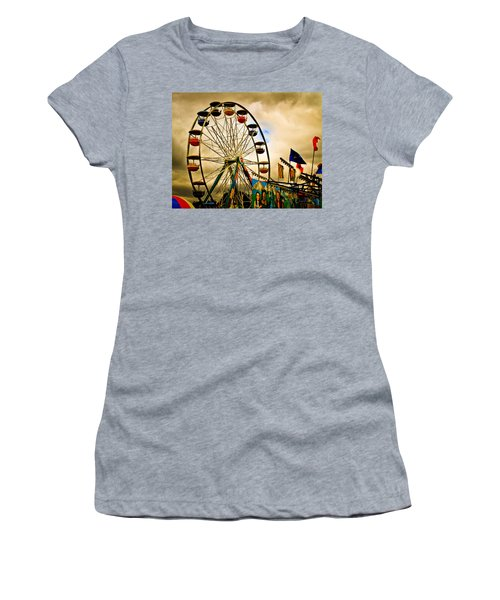 Patch Of Blue Women's T-Shirt (Athletic Fit)