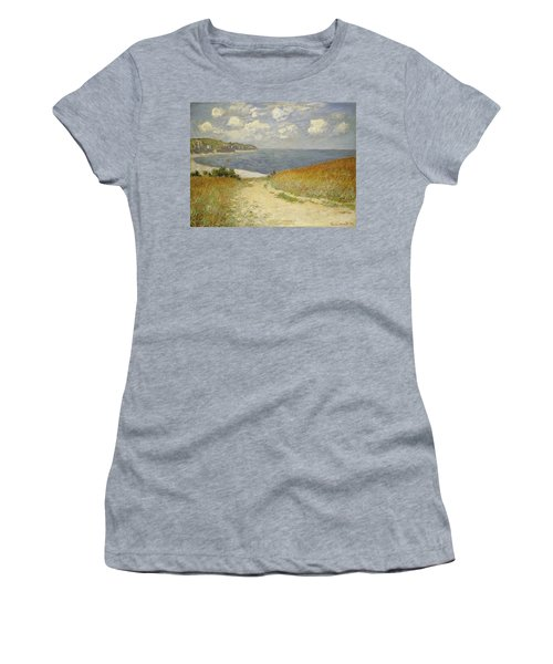 Path In The Wheat At Pourville Women's T-Shirt (Athletic Fit)