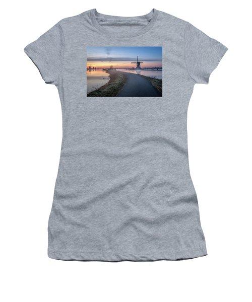 Path Through Windmill City Women's T-Shirt