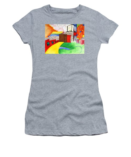 Path To Enlightenment Women's T-Shirt (Athletic Fit)