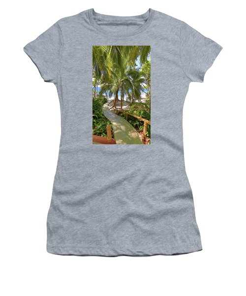 Path To Paradise Women's T-Shirt