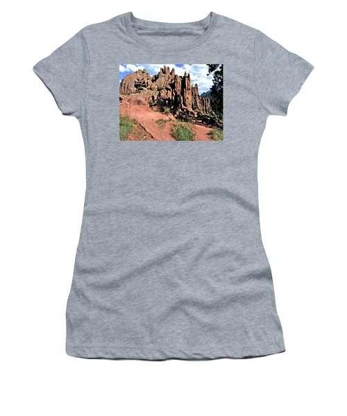 Path To Red Rocks Women's T-Shirt (Athletic Fit)