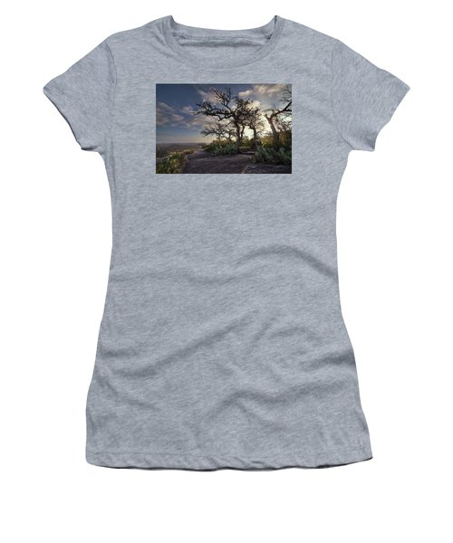 Pathway On Top Of Enchanted Rock Women's T-Shirt