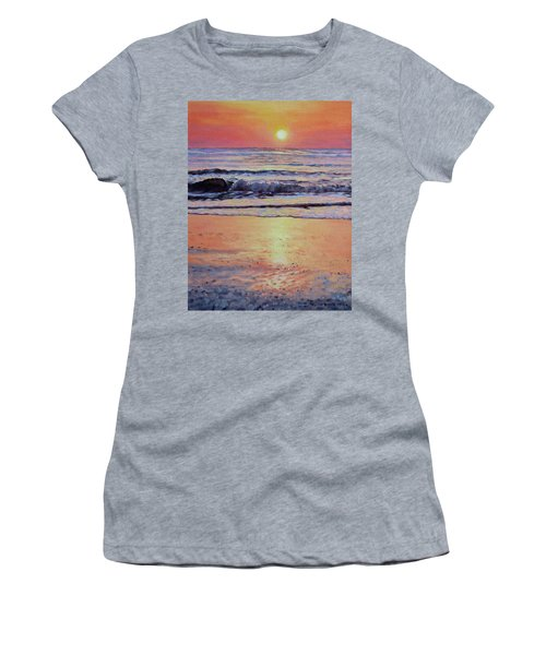 Pathway To Dawn - Outer Banks Sunrise Women's T-Shirt (Athletic Fit)
