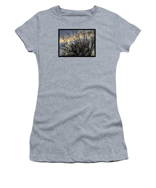 Patterns In The Sky Women's T-Shirt (Junior Cut) by Frank J Casella