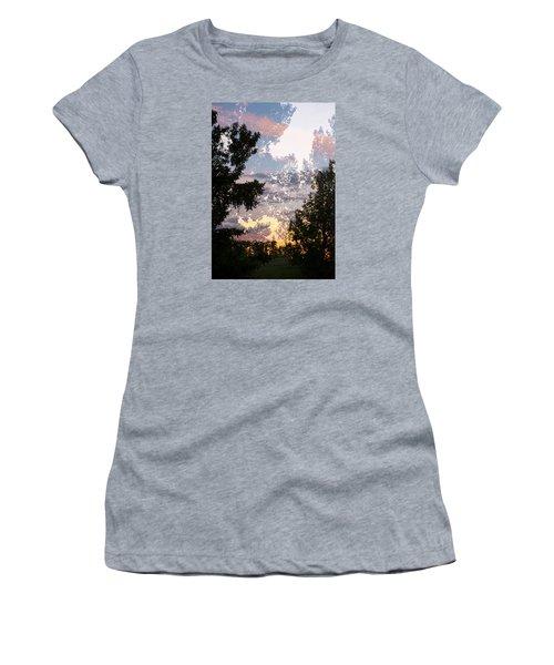 Paynotn Sunset Women's T-Shirt (Junior Cut) by Ellery Russell