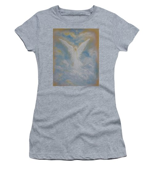Peace From An Angel  Women's T-Shirt (Athletic Fit)