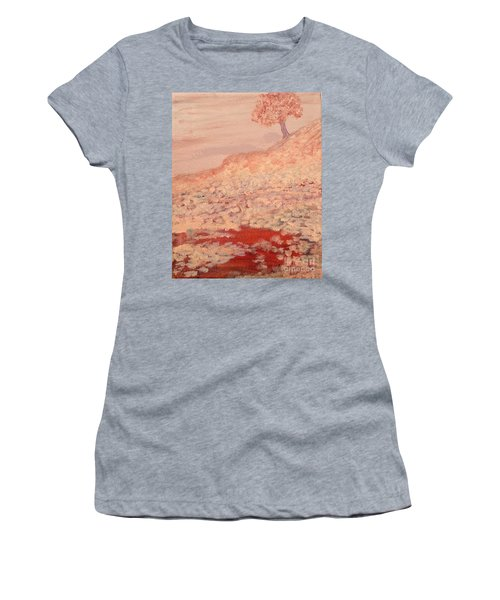 Peachy Day Women's T-Shirt (Athletic Fit)