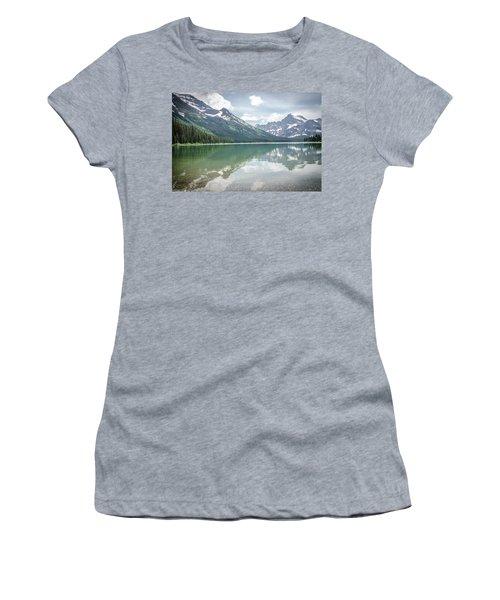 Peaks At Lake Josephine Women's T-Shirt