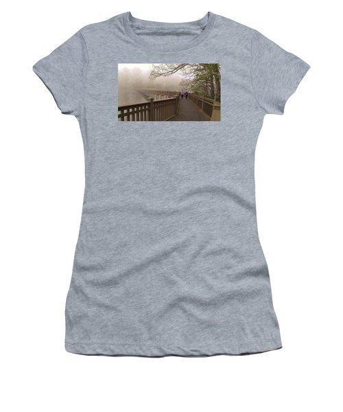 Pedestrian Bridge Early Morning Women's T-Shirt