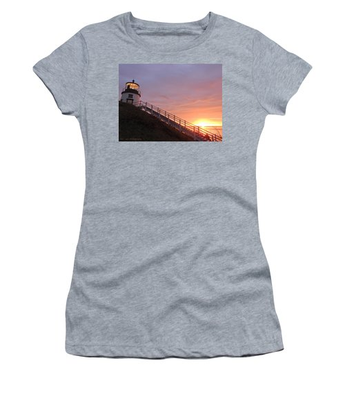 Peeking Sunrise Women's T-Shirt
