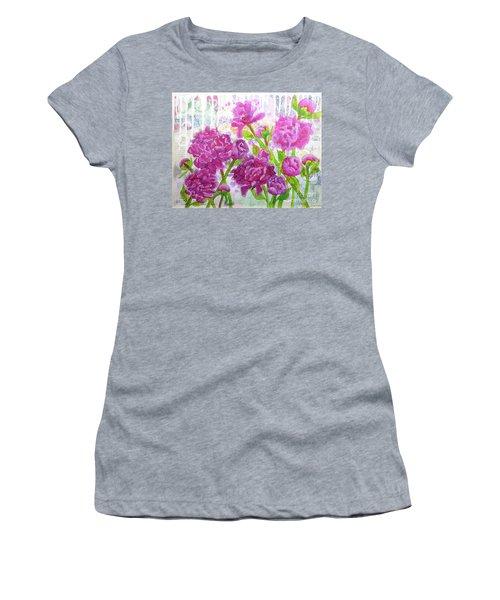 Peony Profusion Women's T-Shirt