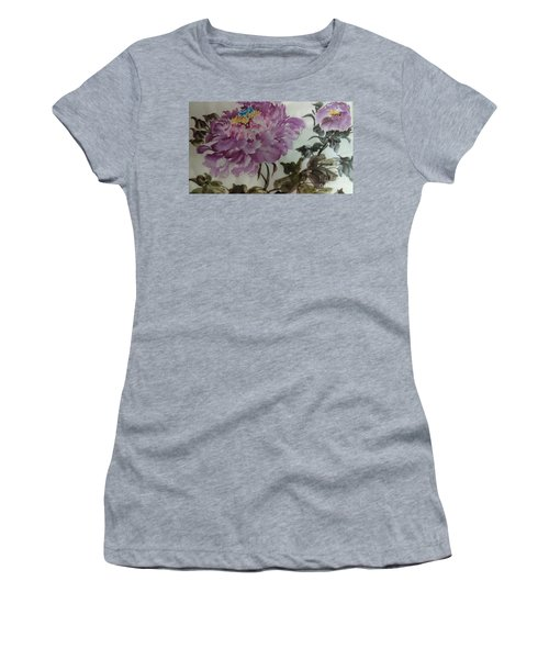 Peony20170213_1 Women's T-Shirt (Athletic Fit)