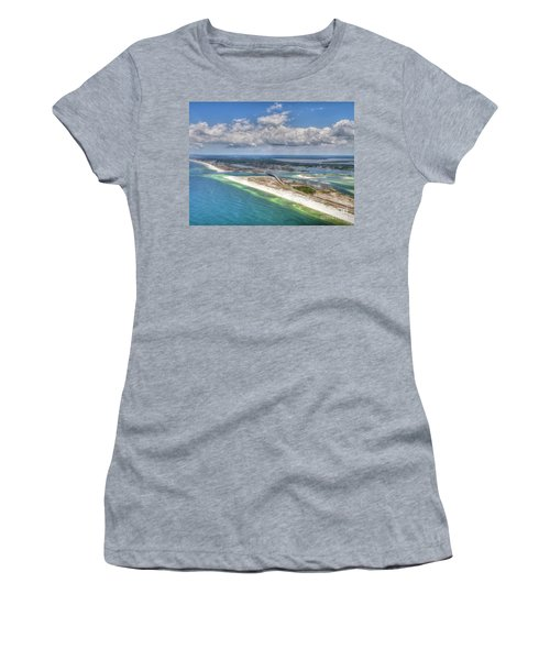 Perdido Pass Aerial 3029 Women's T-Shirt