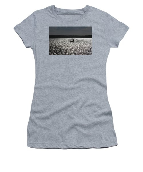 Women's T-Shirt (Athletic Fit) featuring the photograph Perfect Light At Lake Wollumboola by Miroslava Jurcik