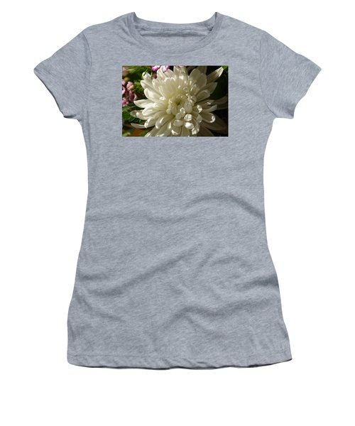 Petals Profusion Women's T-Shirt (Junior Cut) by Cricket Hackmann