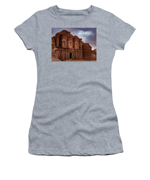 Petra's Monastery Women's T-Shirt (Athletic Fit)
