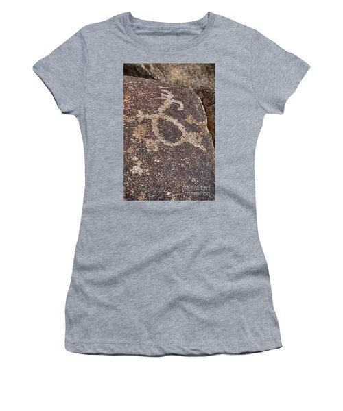 Petroglyph #2 Women's T-Shirt (Junior Cut) by Anne Rodkin