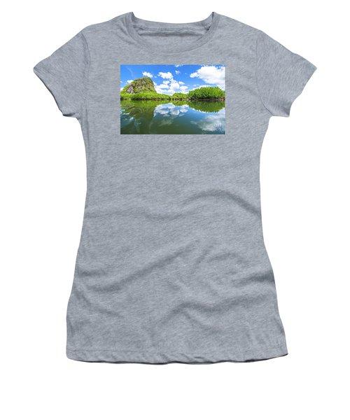 Phang Nga Bay Women's T-Shirt (Athletic Fit)