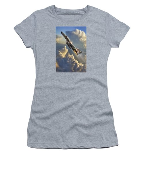Phantom Cloud Break Women's T-Shirt (Athletic Fit)