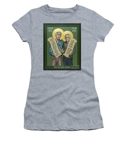 Philip And Daniel Berrigan Women's T-Shirt