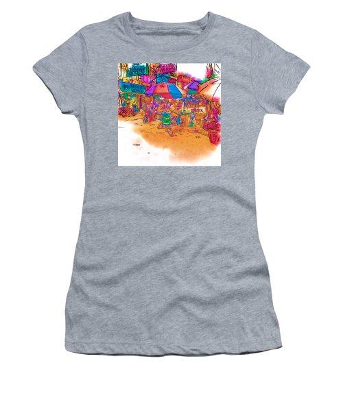 Philippine Open Air Market Women's T-Shirt