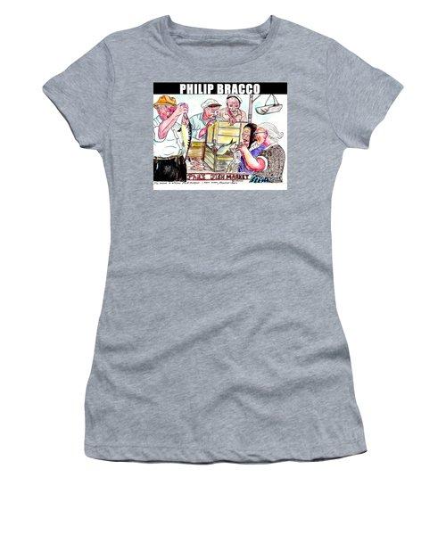 Phil's Fish Market Women's T-Shirt (Junior Cut) by Philip Bracco