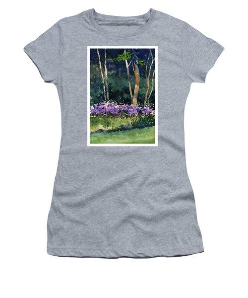 Phlox Meadow, Harrington State Park Women's T-Shirt