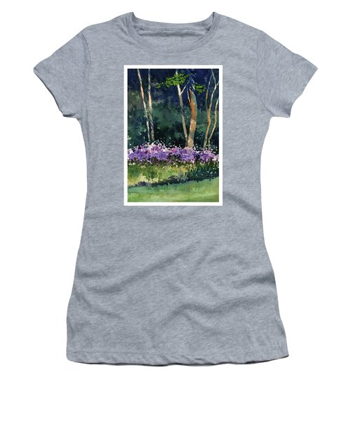 Phlox Meadow, Harrington State Park Women's T-Shirt (Athletic Fit)