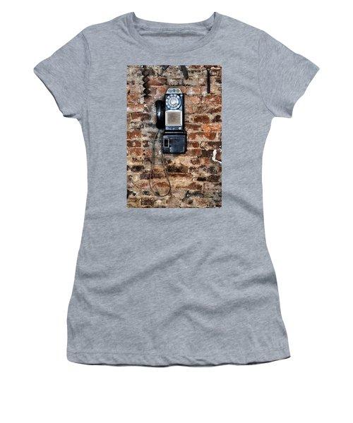 Pay Phone  Women's T-Shirt